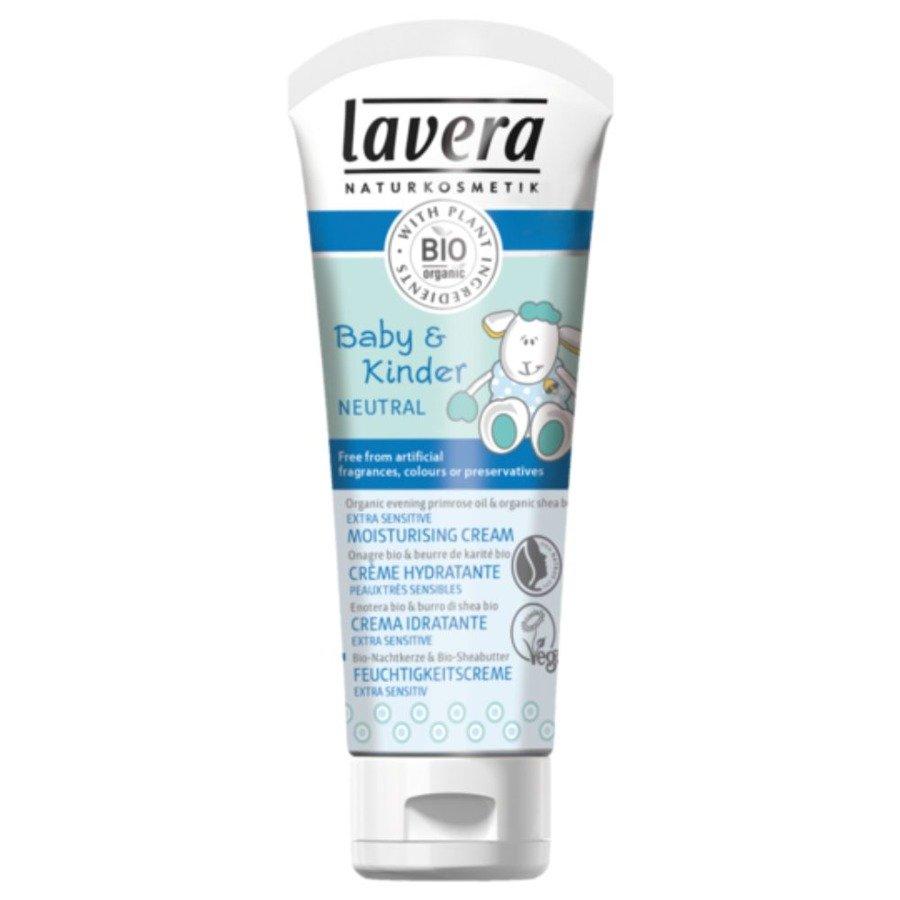 Lavera Neutral Krem pielęgnacyjny dla dzieci i niemowląt z wiesiołkiem i masłem shea 75 ml