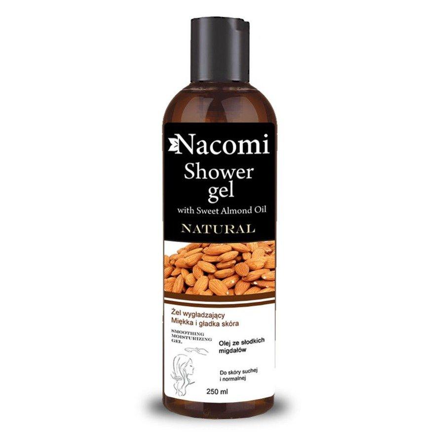 Nacomi Żel pod prysznic z olejem ze słodkich migdałów nawilżający