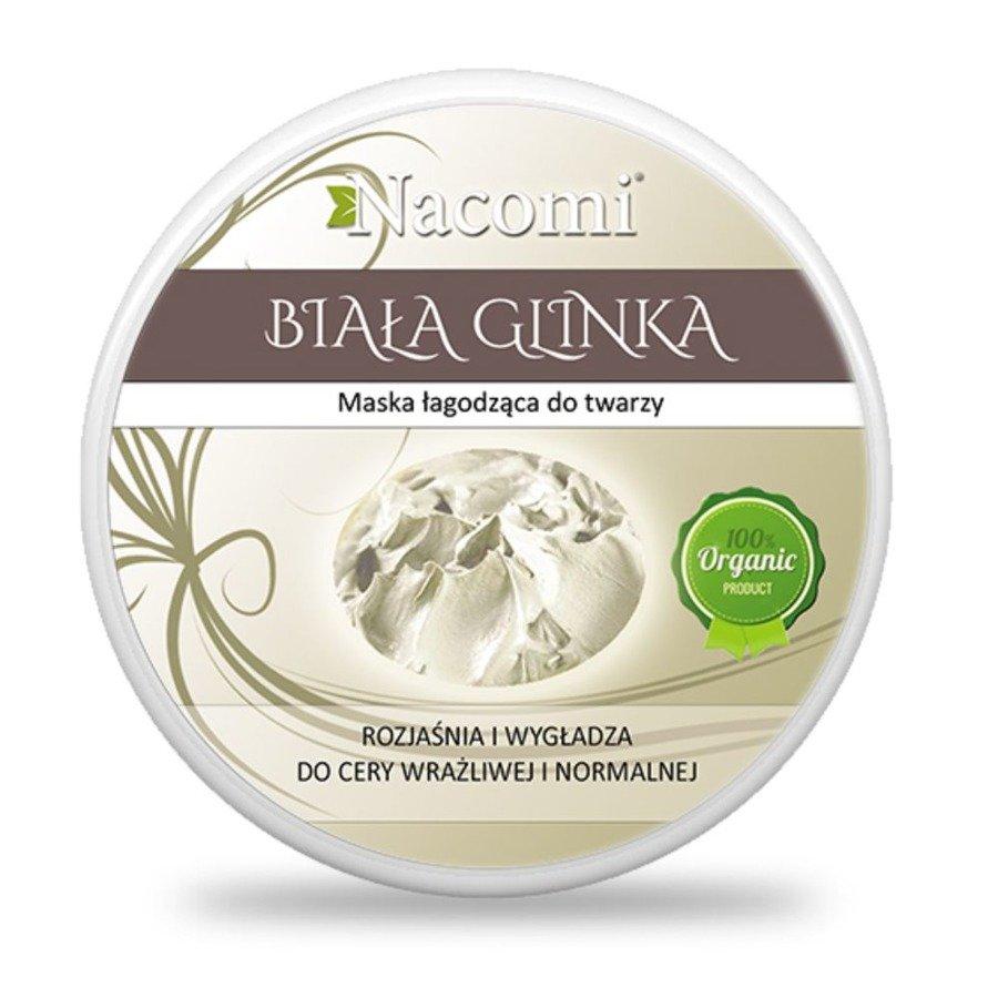 Nacomi Glinka biała kaolin 100 ml