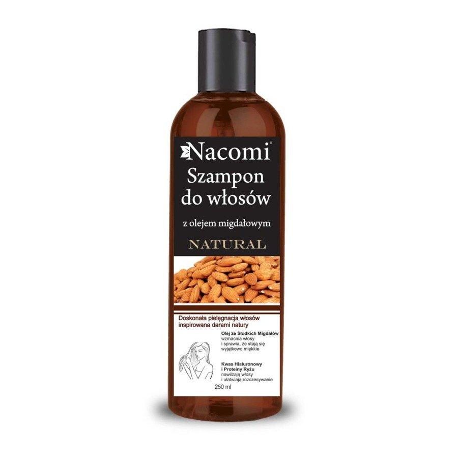 Nacomi Szampon z olejem ze słodkich migdałów wygładzający