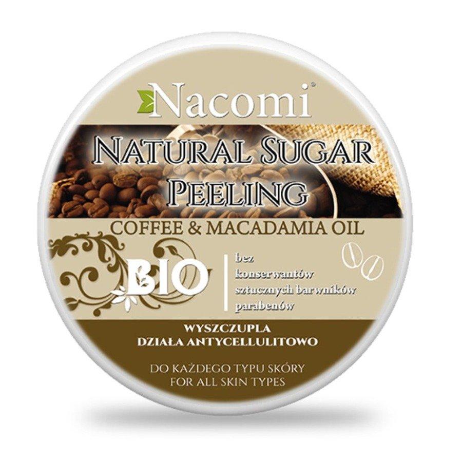 Nacomi Naturalny peeling cukrowy o zapachu kawowym