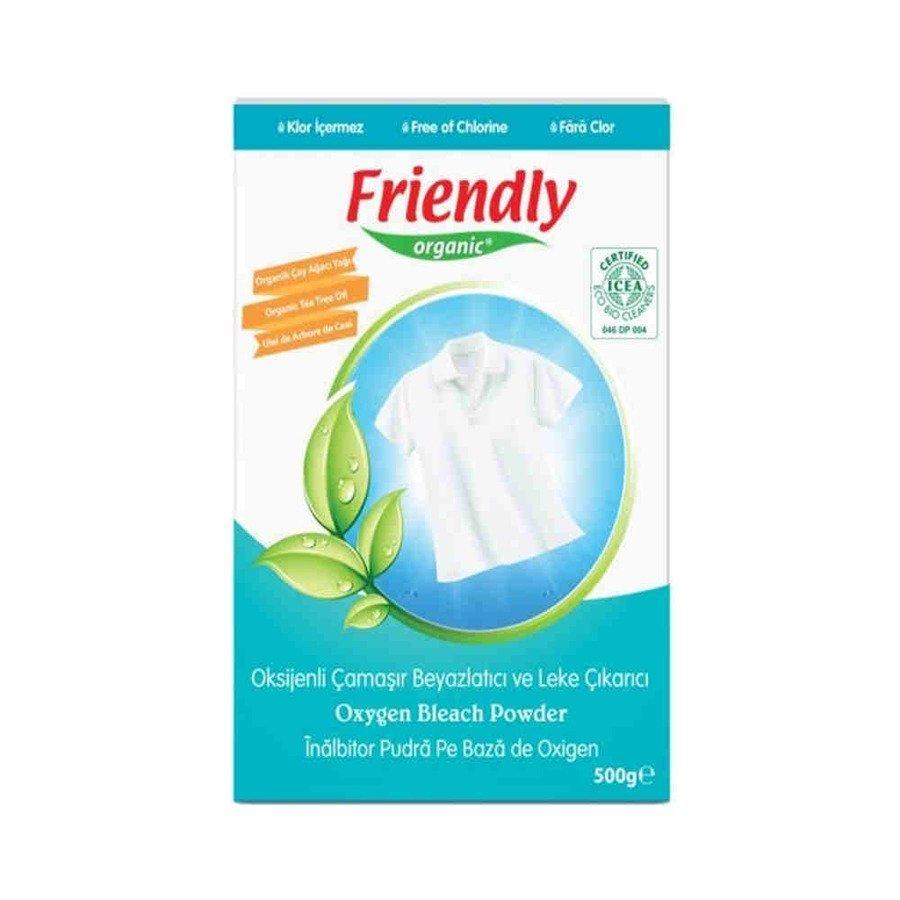 Ekologiczny wybielacz tlenowy w proszku Friendly Organic Bleach 500 g