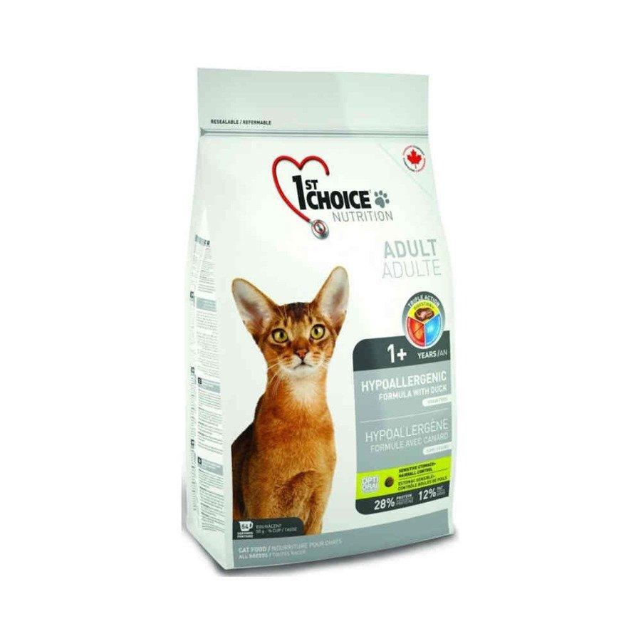 1st Choice Cat Hypoalergenic Hipoalergiczna karma sucha dla kotów bezzbożowa 350 g