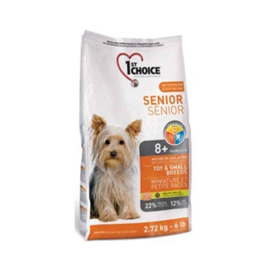 1st Choice Senior Dog Mature Sucha karma dla psów mniej aktywnych lub starszych ras miniaturowych i małych 2,72 kg