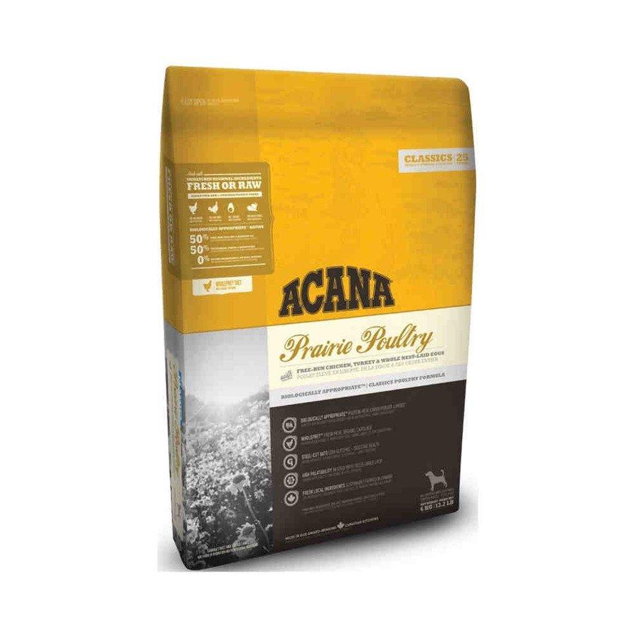 Acana Classics Prairie Poultry Sucha karma dla psa z drobiem 6 kg