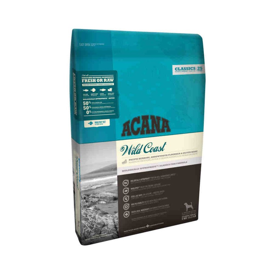 Acana Classics Wild Coast Sucha karma dla psa z rybą 17 kg