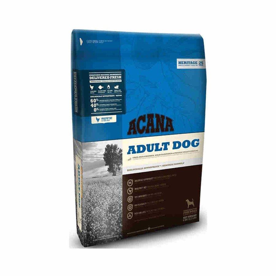 Acana Heritege Cobb Chicken & Greens Sucha karma dla psów wszystkich ras bezglutenowa 11,4 kg