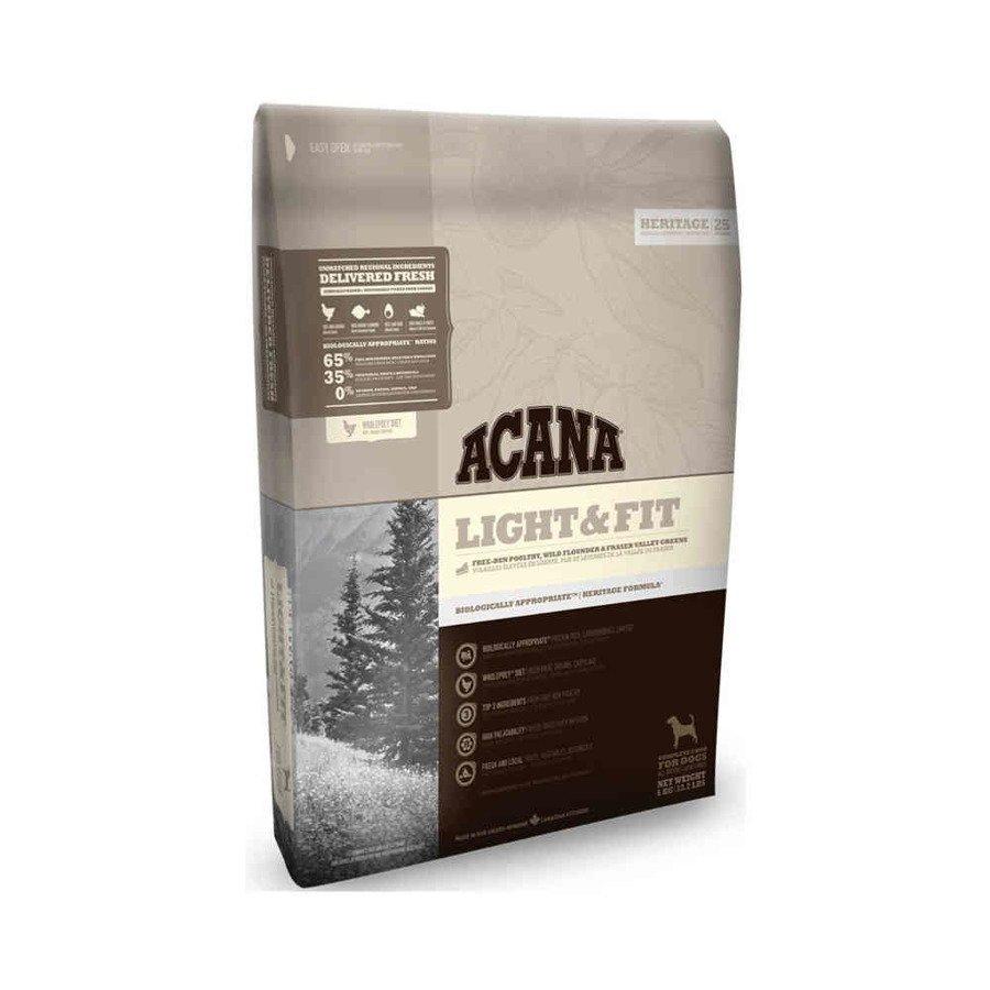 Acana Heritege Light & Fit Dog Sucha karma dla psów wszystkich ras niskokaloryczna 2 kg