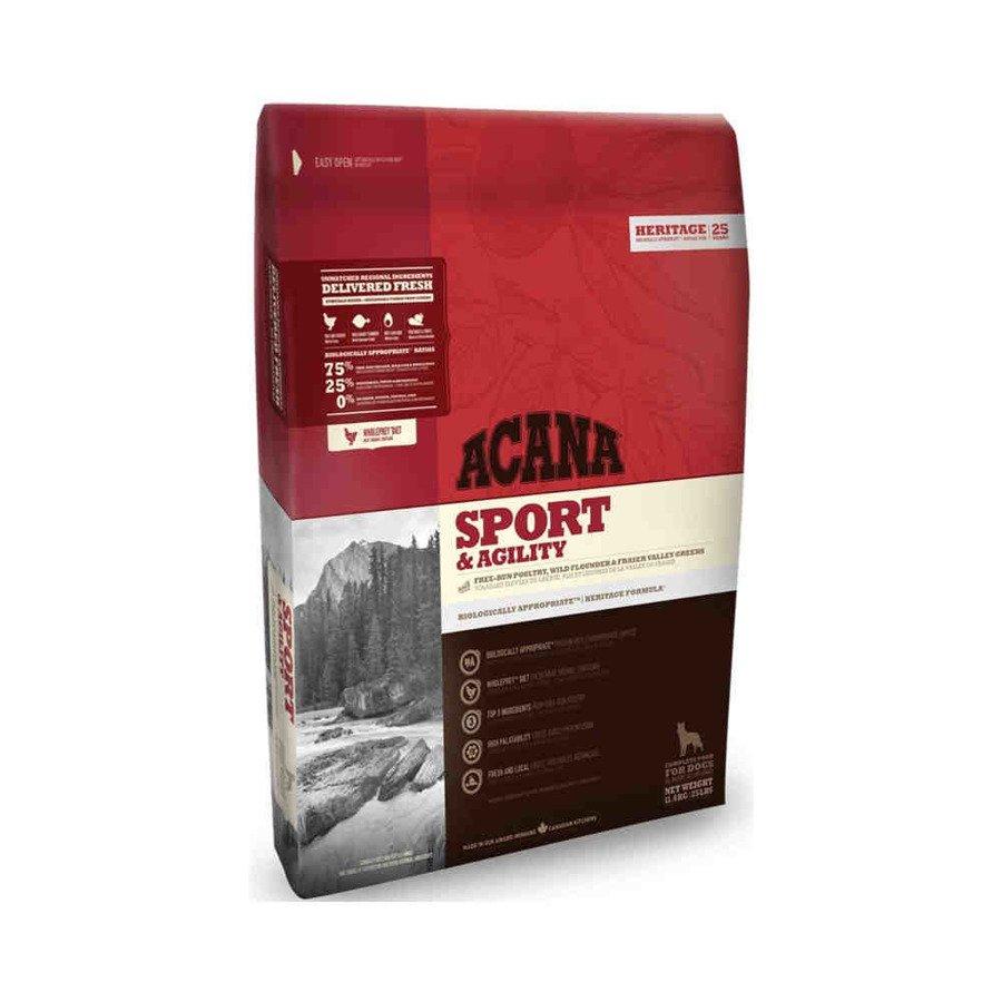Acana Heritege Sport & Agility Sucha karma dla psów aktywnych wszystkich ras 11,4 kg