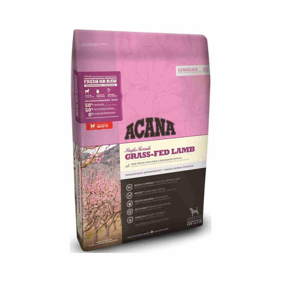Acana Singles Grass-Fed Lamb Sucha karma dla psów wszystkich ras monobiałkowa 11,4 kg