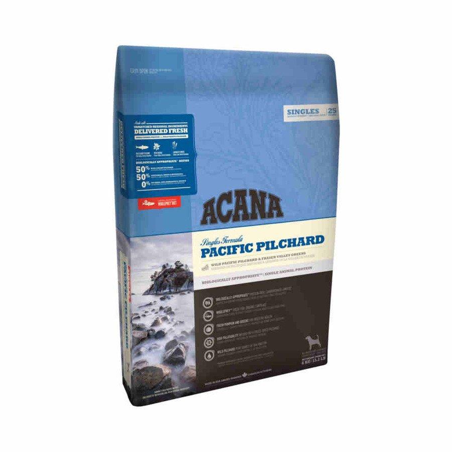 Acana Singles Pacific Pilchard Sucha karma dla psów wszystkich ras monobiałkowa 6 kg
