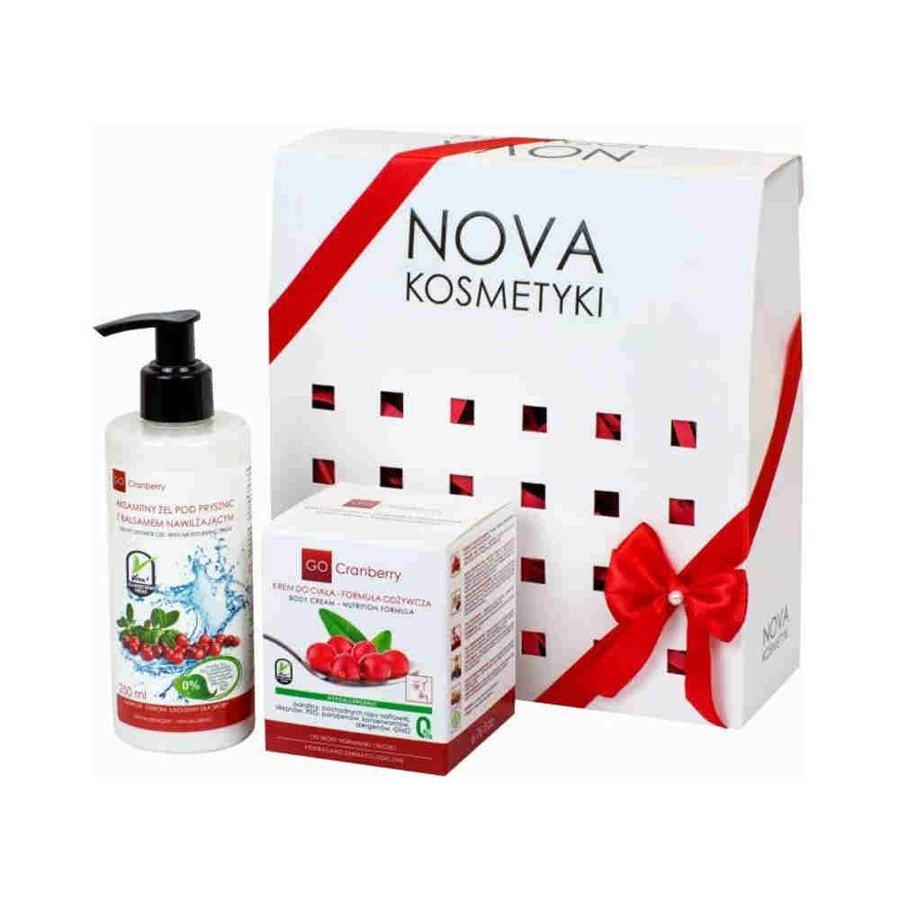 Aksamitna pielęgnacja zestaw kosmetyków GoCranberry Nova