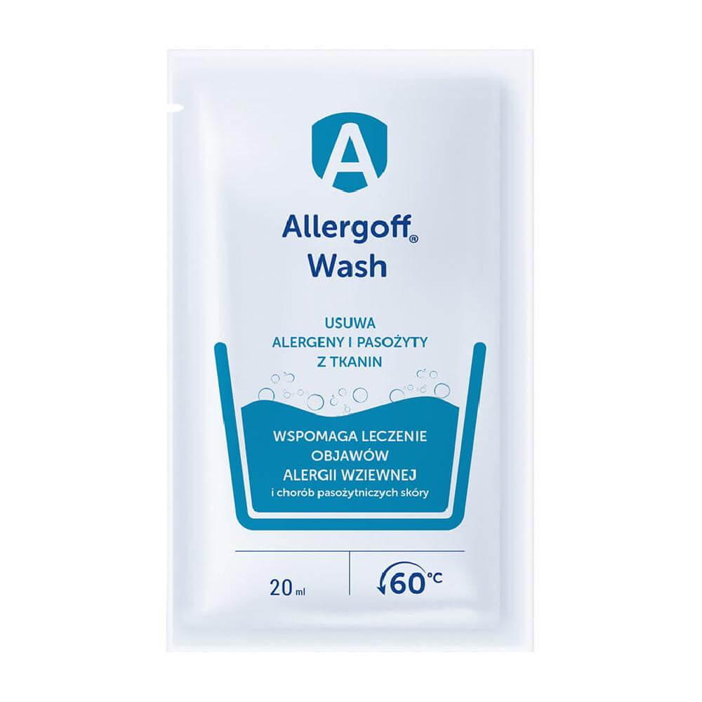 Allergoff Płyn do tkanin neutralizator alergenów kurzu domowego 20ml