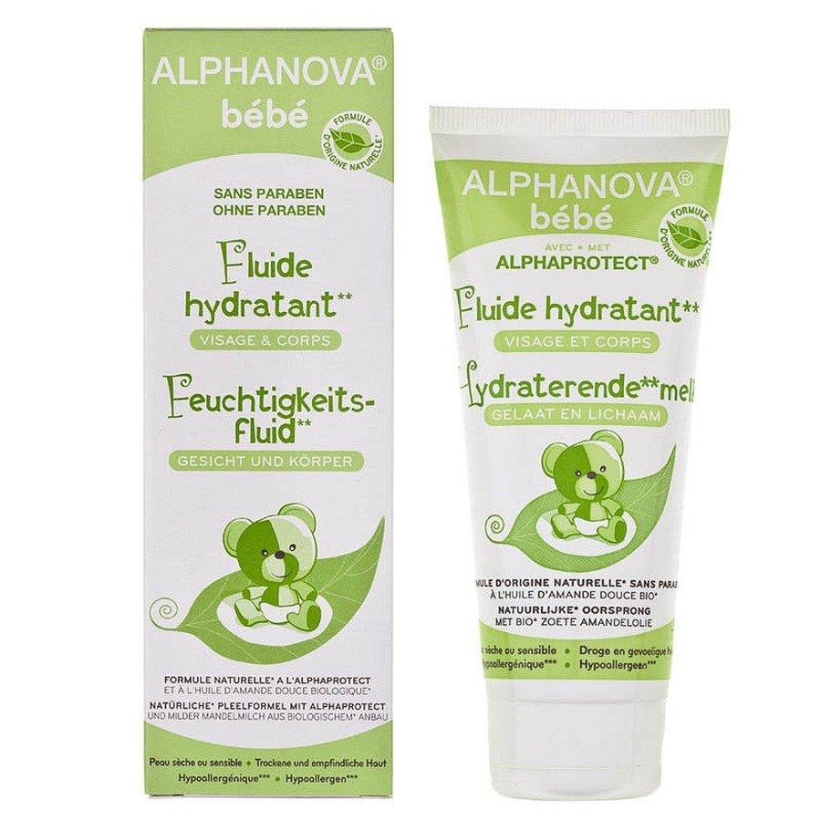Alphanova Bebe Fluid nawilżający do twarzy i ciała