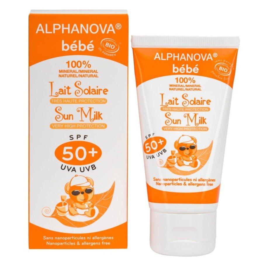 Alphanova Bebe Przeciwsłoneczny krem dla dzieci SPF50+