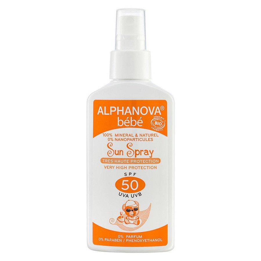 Alphanova Bebe Spray przeciwsłoneczny SPF50