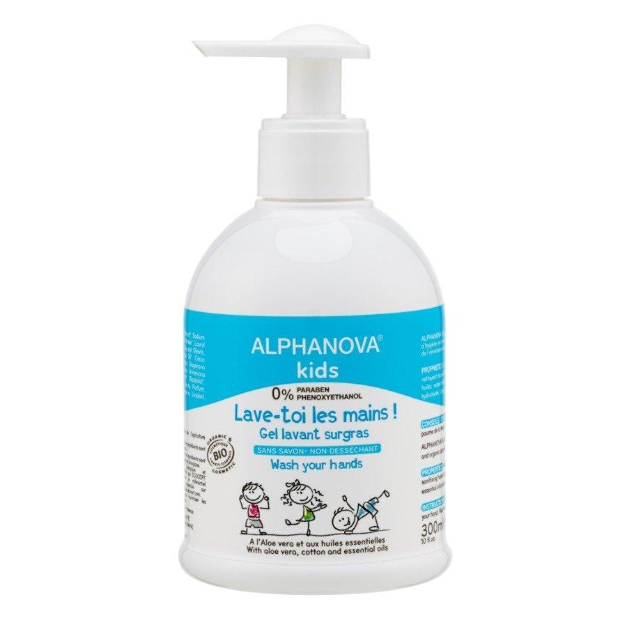 Alphanova Kids Antybakteryjny żel do mycia rąk
