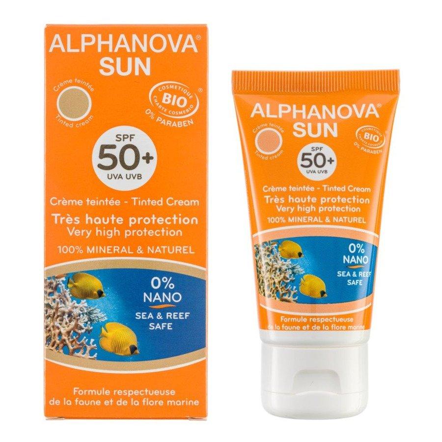 Alphanova Sun Bio Hipoalergiczny krem przeciwsłoneczny SPF50+ BB