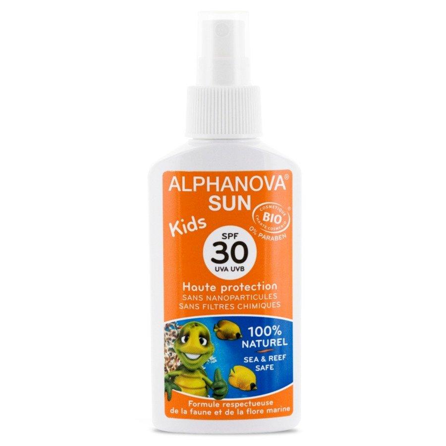 Alphanova Sun Bio Kids Spray przeciwsłoneczny SPF30 125 g