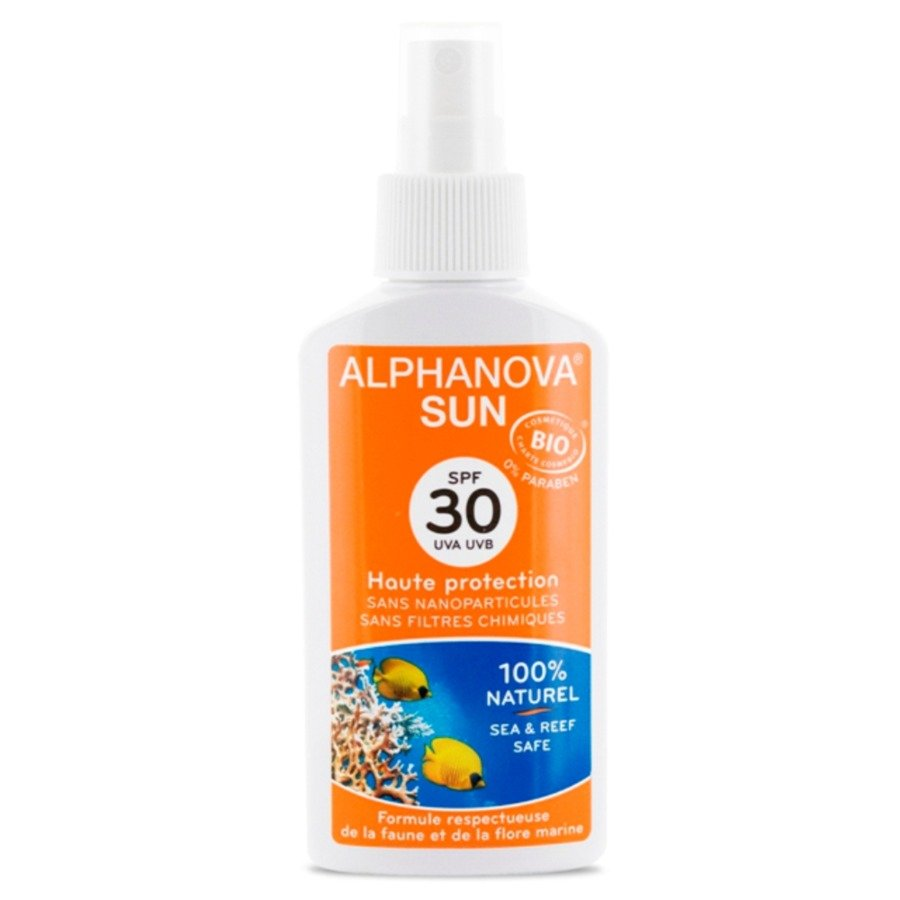 Alphanova Sun Bio Spray przeciwsłoneczny SPF30 125g