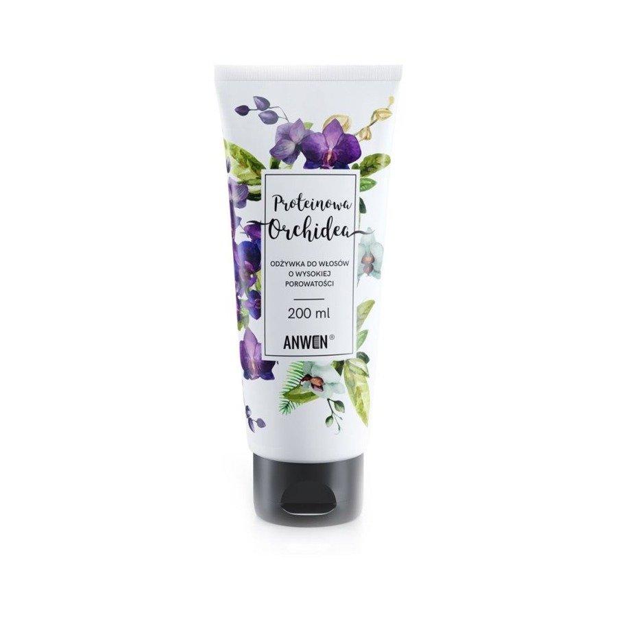 Anwen Odżywka do włosów o wysokiej porowatości proteinowa orchidea 200 ml