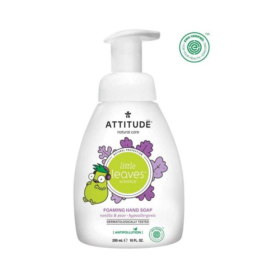 Attitude Ekologiczne mydło w piance dla dzieci gruszkowy nektar i wanilia 295 ml