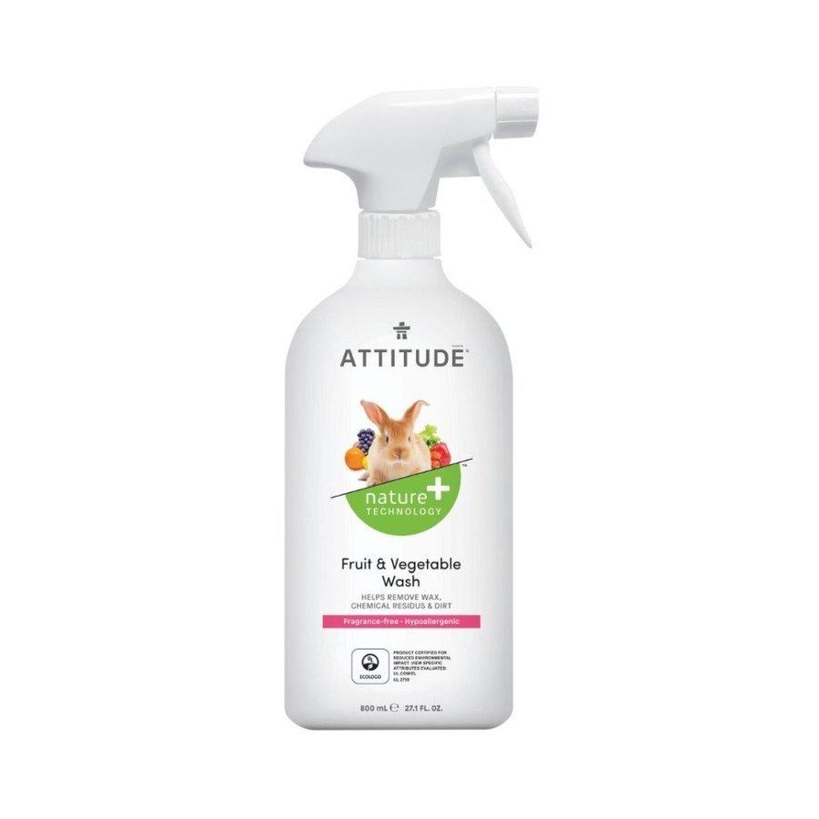 Attitude Ekologiczny płyn do mycia owoców i warzyw bezzapachowy 800 ml