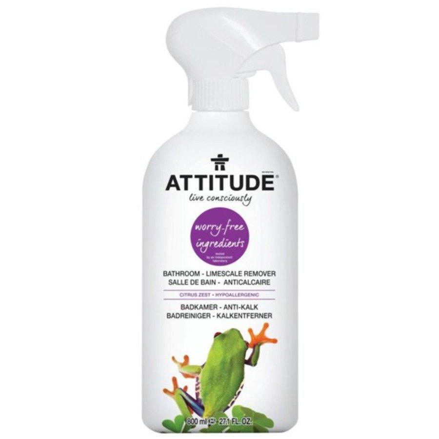 Attitude Płyn do czyszczenia łazienki skórka cytrynowa (citrus zest) 800 ml