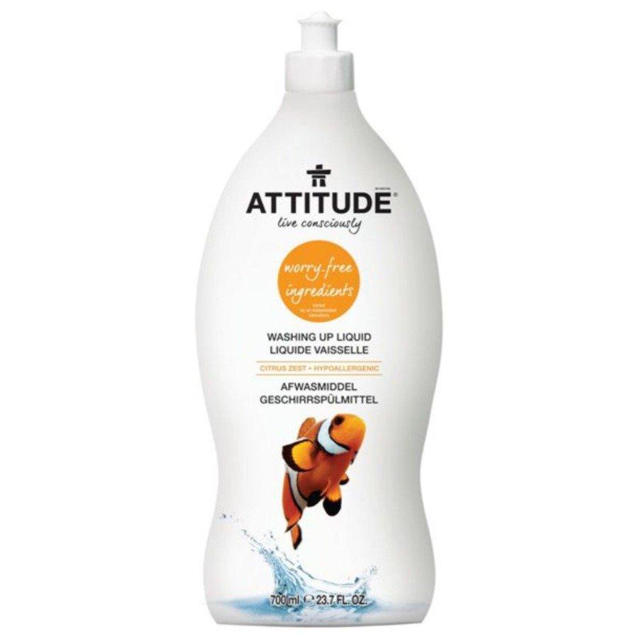 Attitude Płyn do mycia naczyń skórka cytrynowa 700 ml