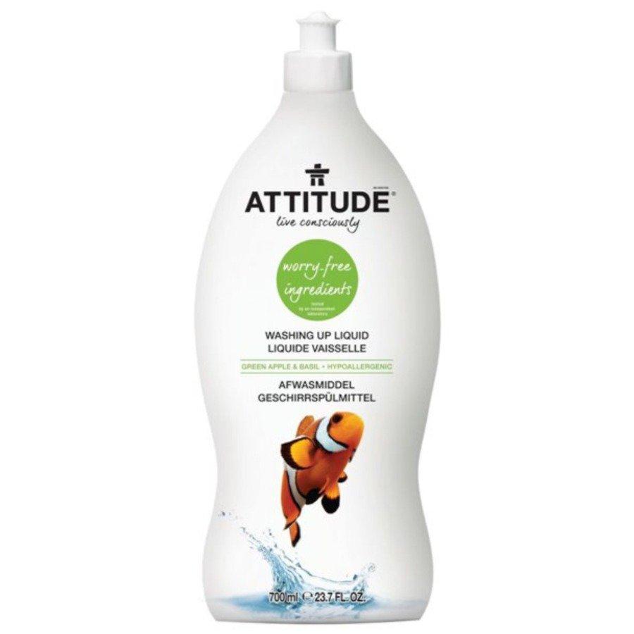 Attitude Płyn do mycia naczyń zielone jabłuszko i bazylia