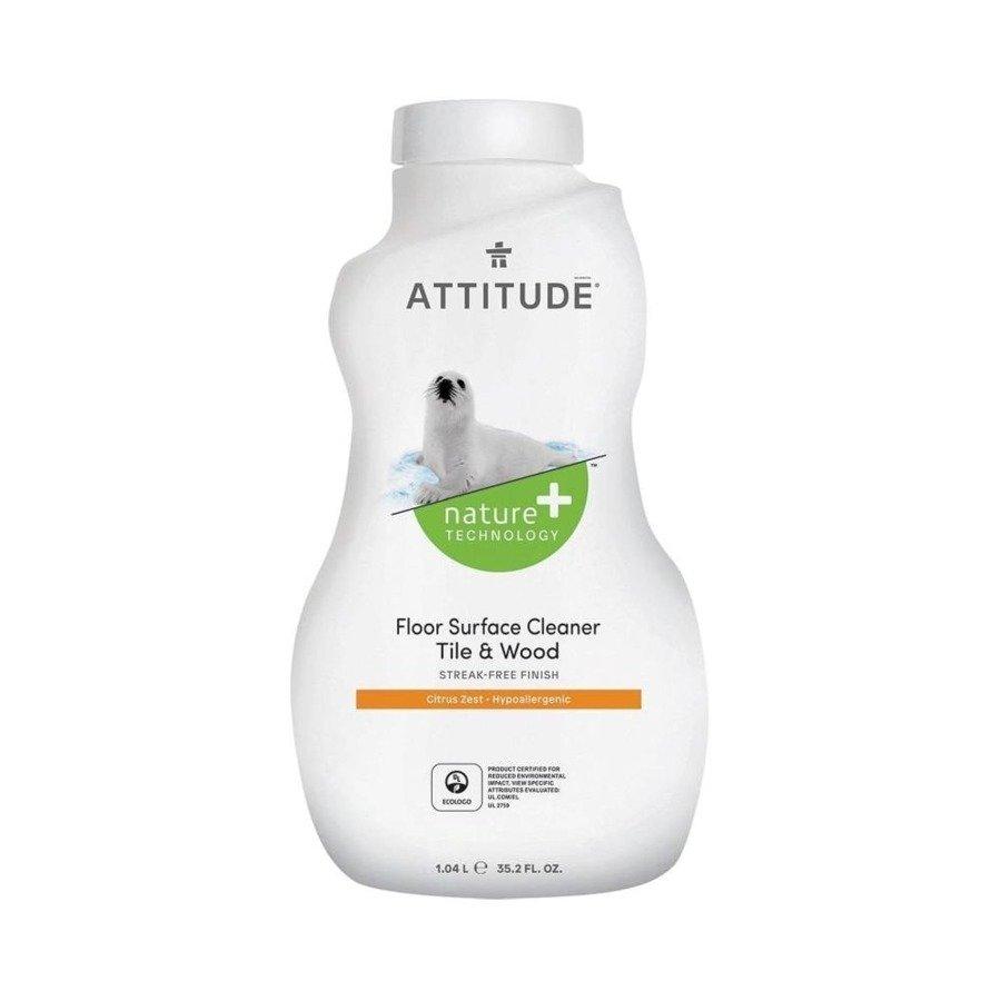 Attitude Płyn do mycia podłóg skórka cytrynowa 1050 ml