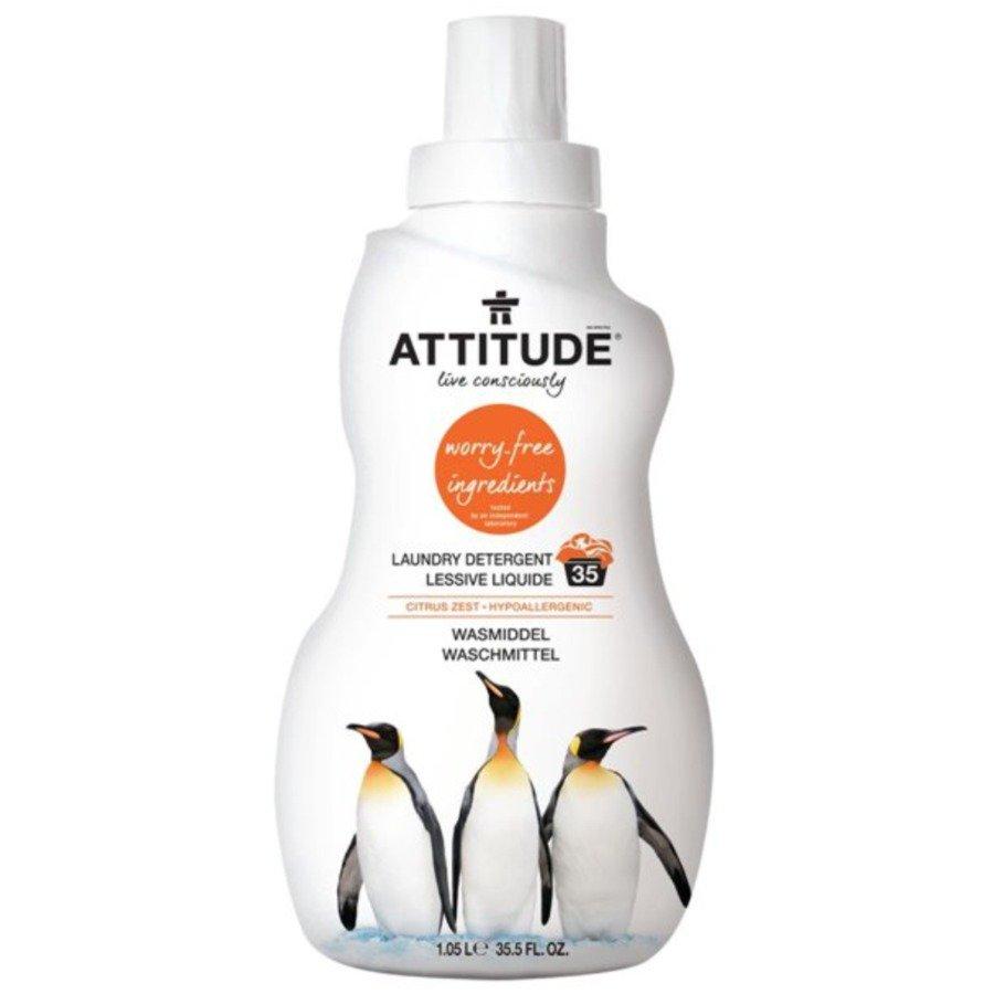 Attitude Płyn do prania skórka cytrynowa