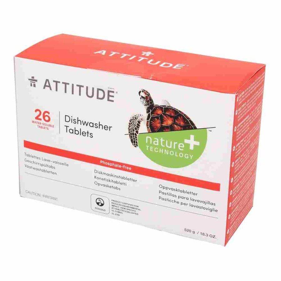 Attitude Tabletki do zmywarki rozpuszczalne saszetki hipoalergiczne (26 szt) 520 g