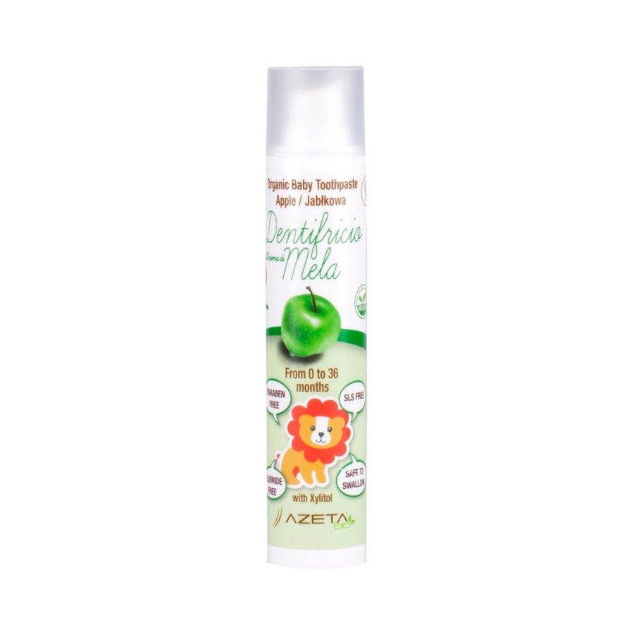 Azeta Bio Organiczna pasta do zębów dla dzieci 0-36m jabłko 50 ml