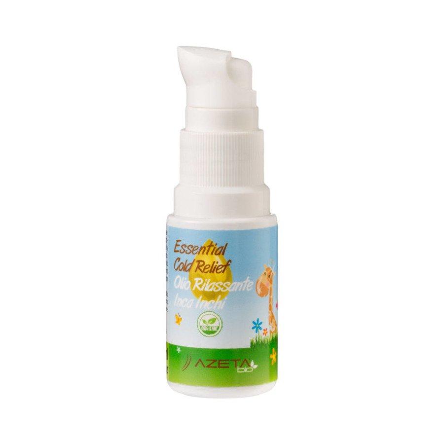 Azeta Bio Organiczny olejek na przeziębienia ułatwiający oddychanie 20 ml