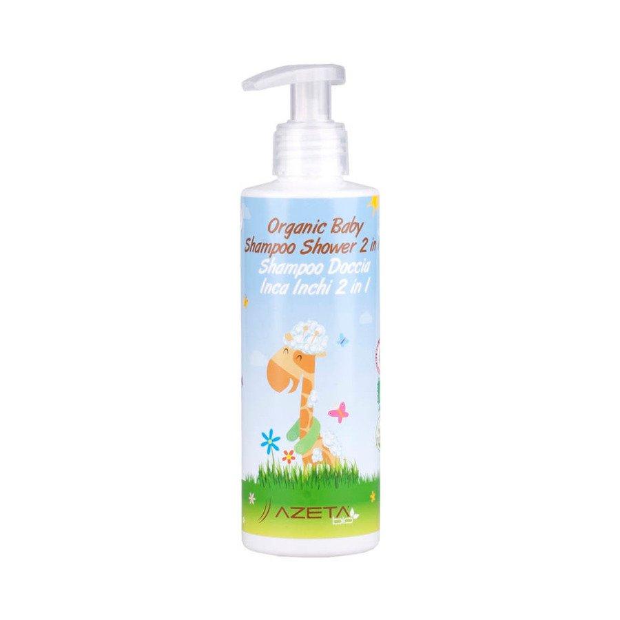 Azeta Bio Organiczny płyn do mycia ciała i włosów dla dzieci 200 ml