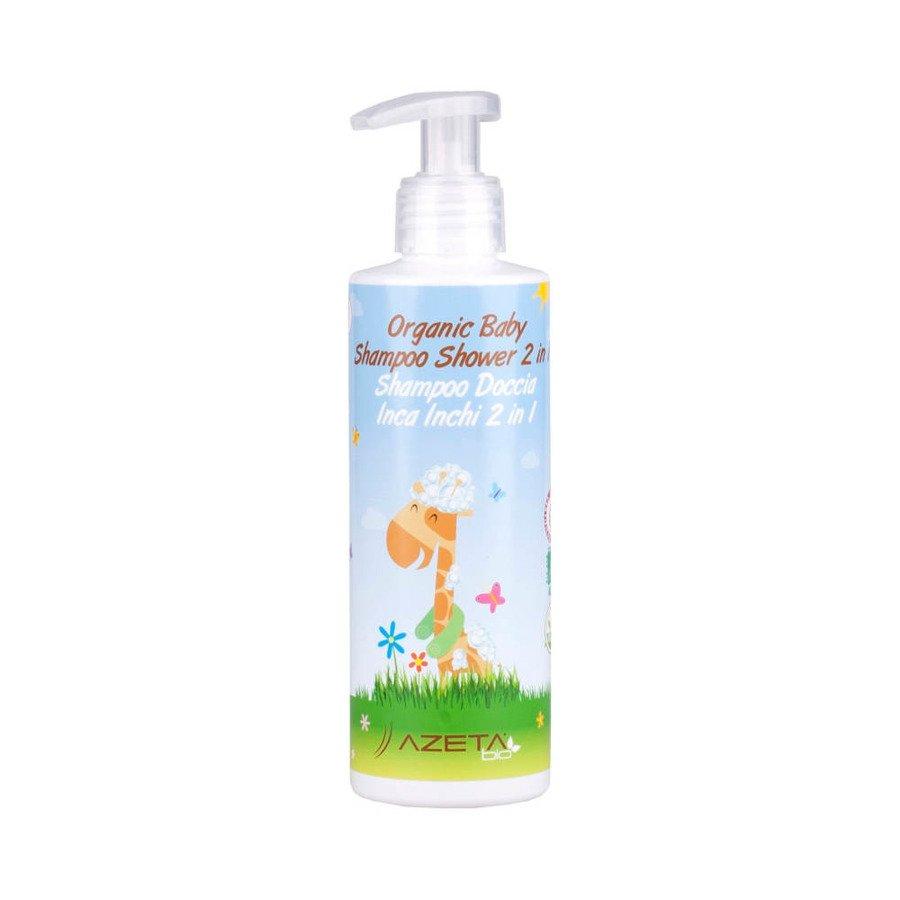 Azeta Bio Organiczny płyn do mycia ciała i włosów dla dzieci 500 ml