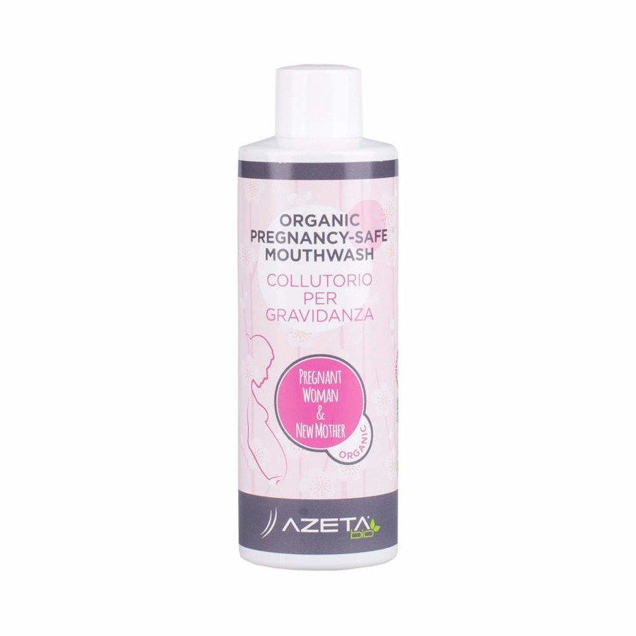 Azeta Bio Organiczny płyn do płukania jamy ustnej dla kobiet w ciąży 200 ml