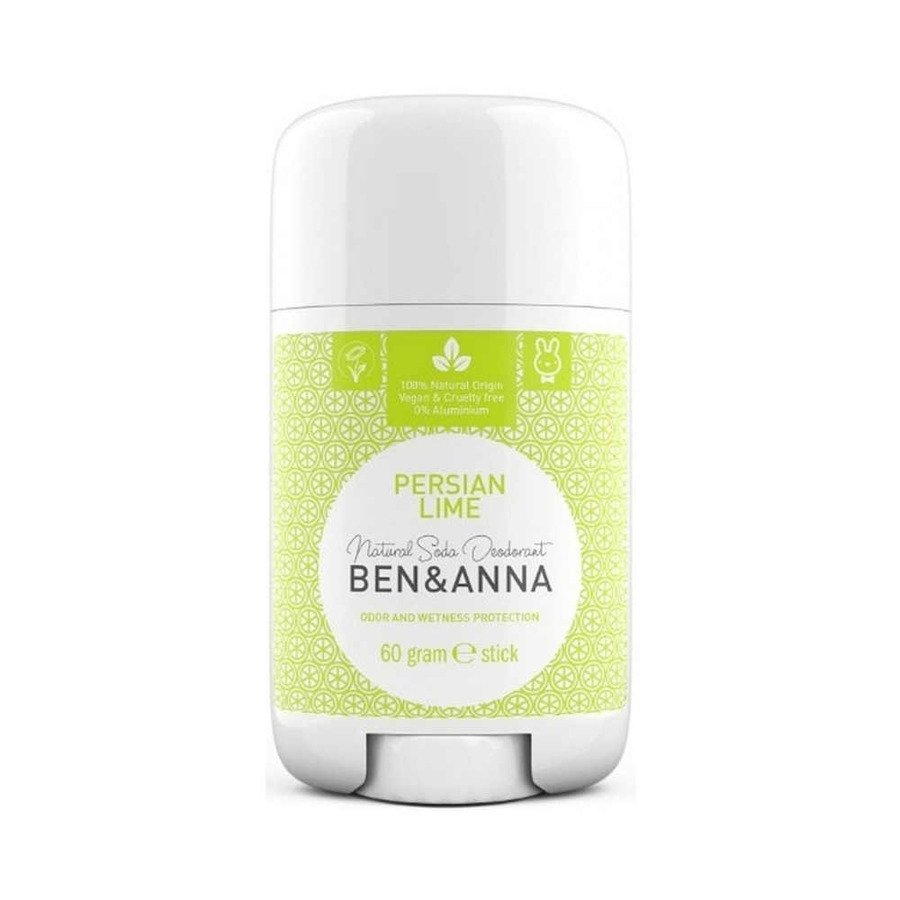 BEN and ANNA Naturalny dezodorant w sztyfcie persian lime plastikowy 60 g