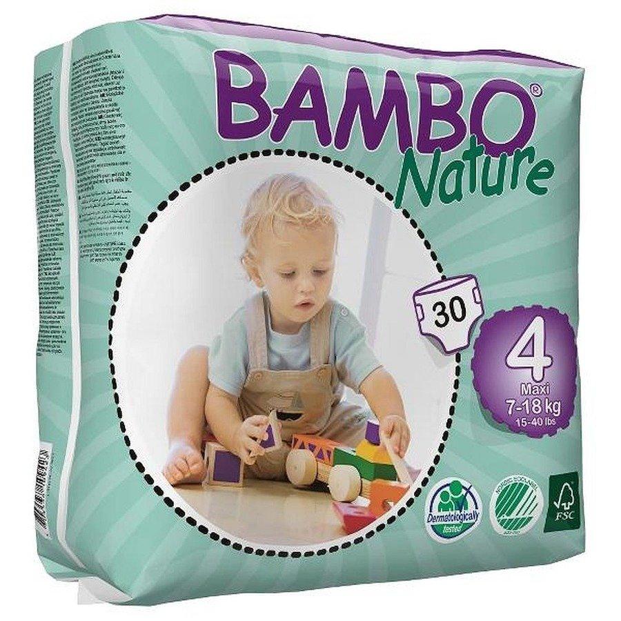 Bambo Nature 4 Pieluchy antyalergiczne dla dzieci 7-18 kg 30 szt.