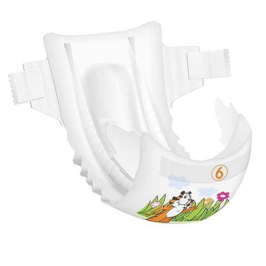 Bambo Nature 6 Ekologiczne pieluchy jednorazowe dla dzieci 16-30 kg 44 szt.