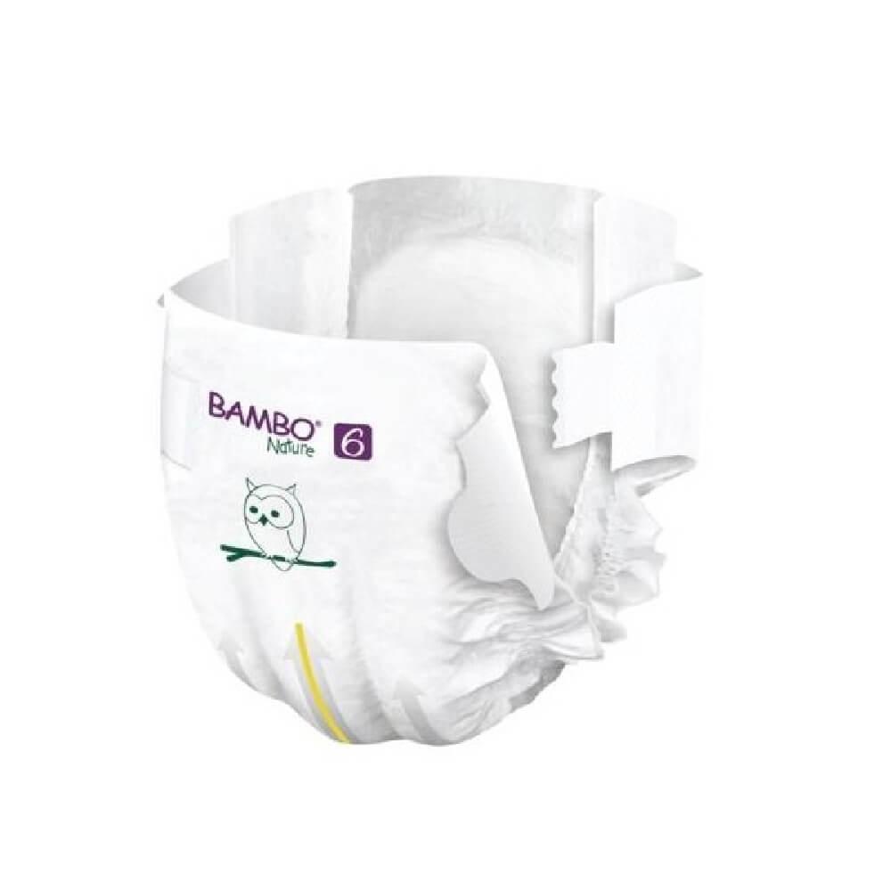 Bambo Nature 6 Pieluchy antyalergiczne dla dzieci 16-30 kg 22 szt.