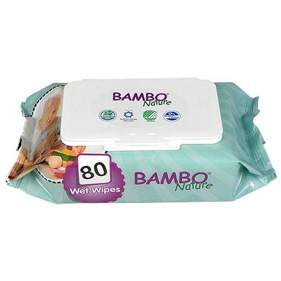 Bambo Nature Baby Hipoalergiczne chusteczki nawilżane 80 szt.
