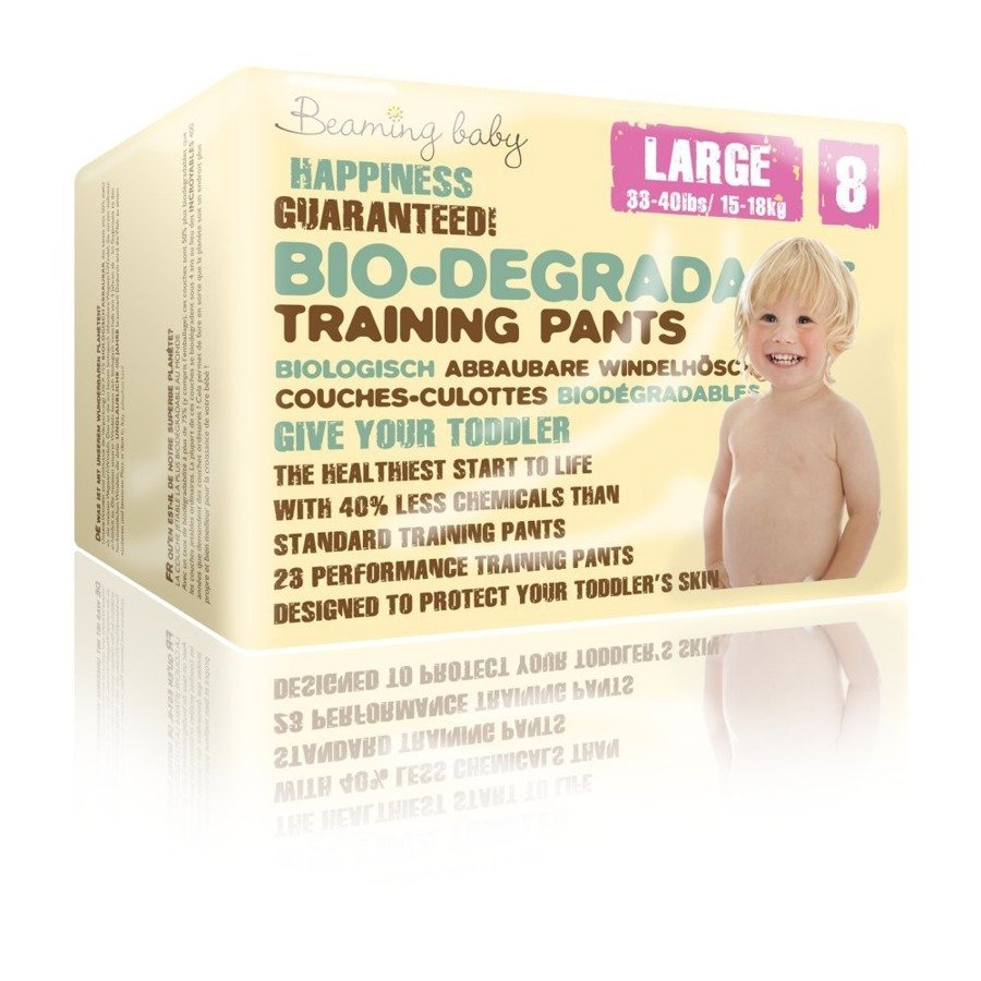 Beaming Baby Pants 8 pieluchomajtki jednorazowe 15-18 kg