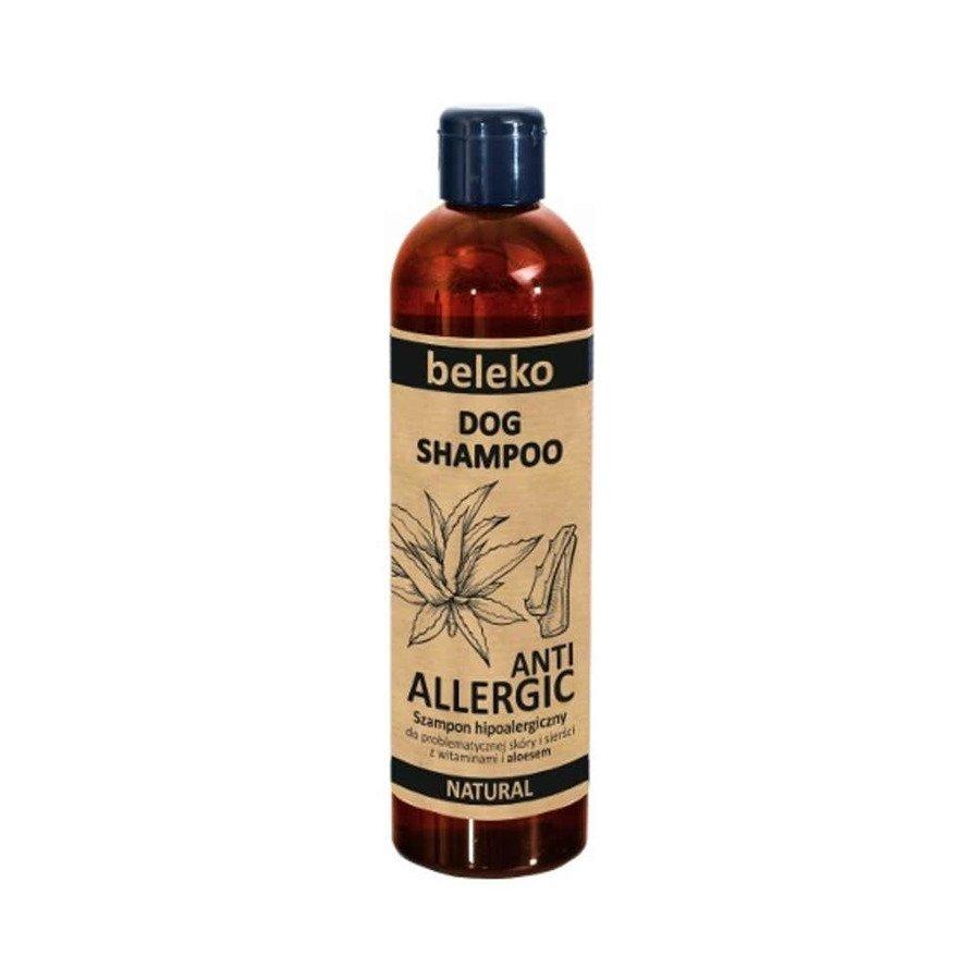 Beleko Anti Allergic Naturalny szampon antyalergiczny z aloesem dla psa 200 ml