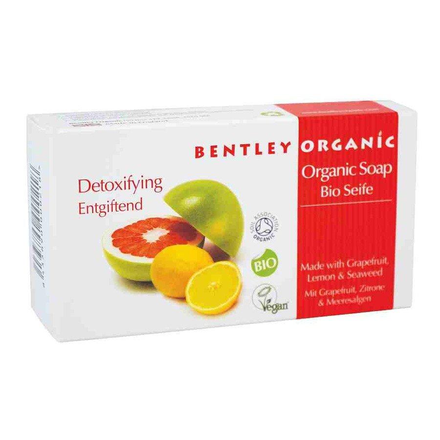 Bentley Organic Detoksykujące mydło organiczne
