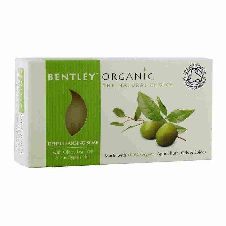 Bentley Organic Głęboko oczyszczające mydło organiczne