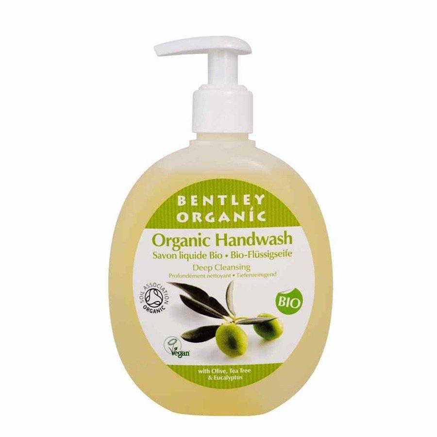 Bentley Organic Głęboko oczyszczające mydło organiczne w płynie