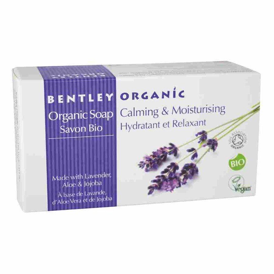 Bentley Organic Łagodzące i nawilżające mydło organiczne