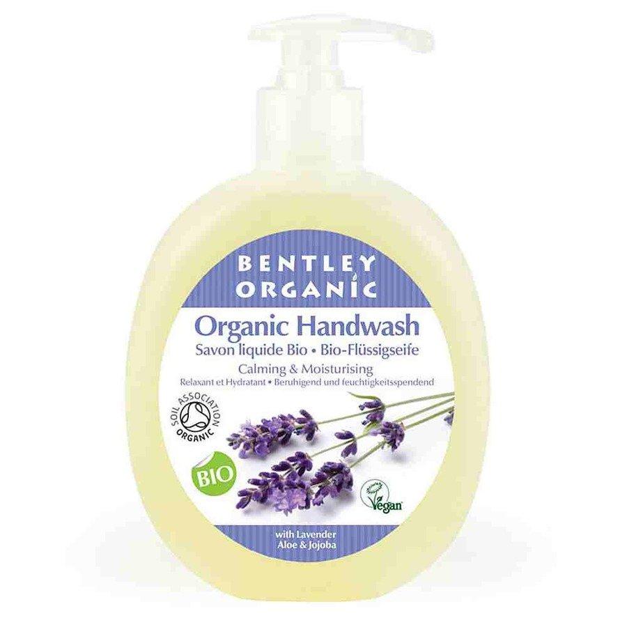 Bentley Organic Łagodzące i nawilżające mydło organiczne w płynie